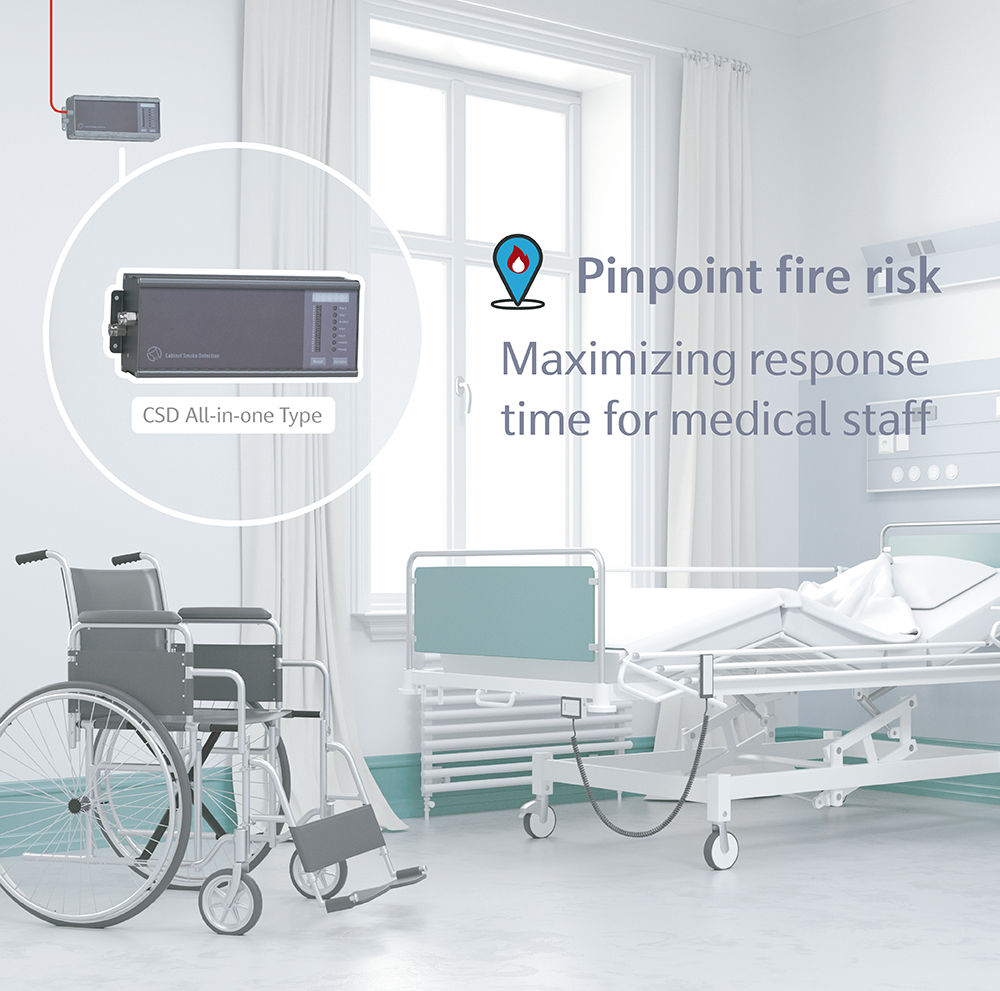 Cabinet Smoke Detection,CSD,AVA,Electrical room,AVAMA,Pinpoint Fire Risk