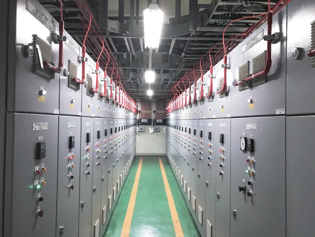 Aspirating smoke detector,ASD,AVA,Electrical room,AVAMA